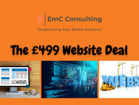 The £499 website deal