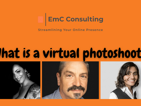 What are virtual photoshoots?