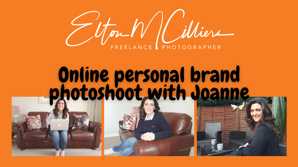 Online personal brand photoshoot with Joanne. Online photography. Online photoshoot. Online photographer. Online personal brand photography. Personal brand. Personal brand photoshoot