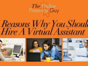 5 Reasons Why You Should Hire A Virtual Assistant For Your Small Business