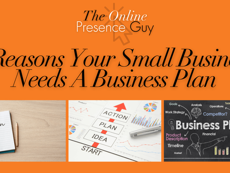 Five reasons your small business needs a business plan