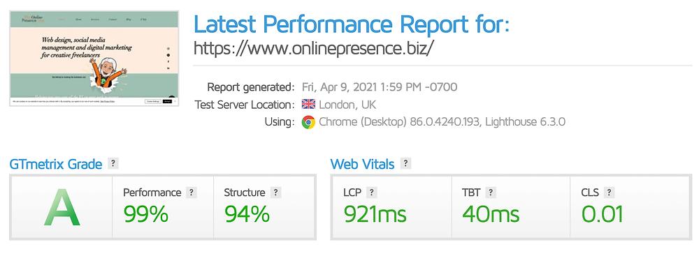 GTmetrix rank results. The Online Presence Guy. Web Design. Website Designer. Web developer. Wix Wesbites. Affordable websites. Website guarantee. Social Media Manager. Digital Marketing. London. Cambridge. United Kingdom
