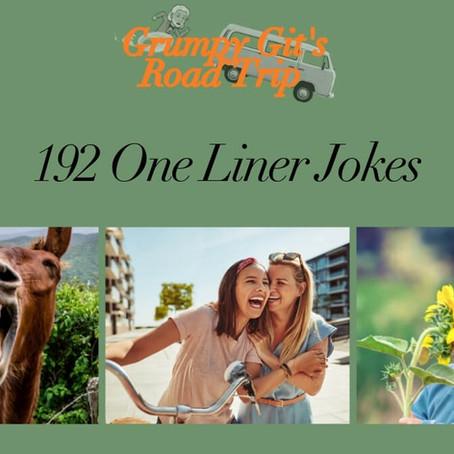 192 One Liner Jokes