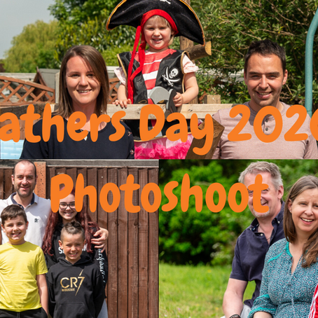 Fathers Day Photoshoot 2020