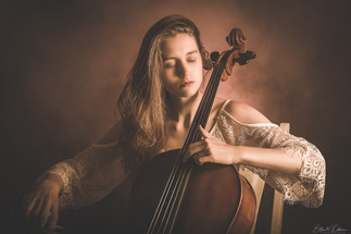 Fineart cellist