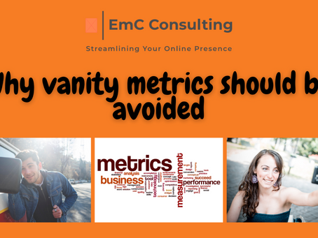 Why vanity metrics should be avoided