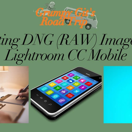 Exporting DNG (RAW) file from Lightroom CC mobile
