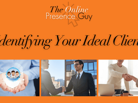 Identifying your ideal client profile