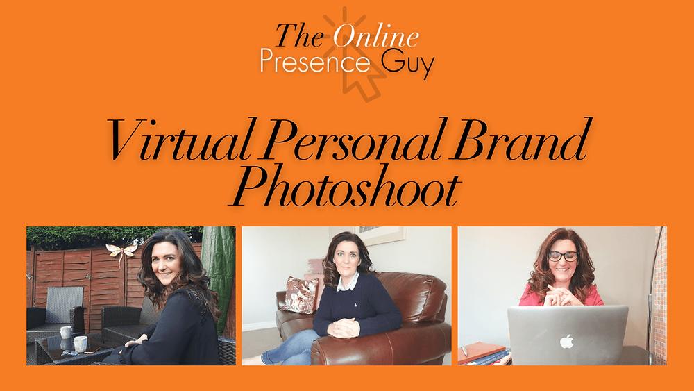 Virtual Personal brand photoshoot. Virtual photoshoot. Virtual photoshoots. Online photoshoot. Online photoshoots. The Online Presence Guy. Photography. Headshot. Photographer. Cambridge. London. United Kingdom