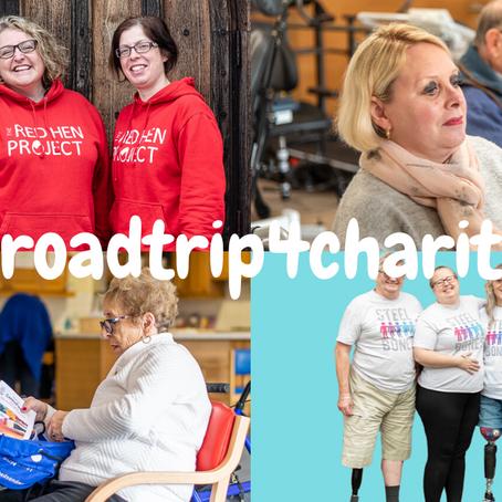 #roadtrip4charity