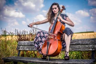 Outdoor Cellist