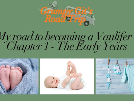My road to becoming a vanlifer - Chapter 1