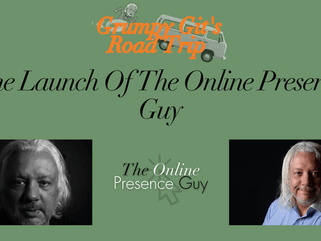 The launch of  The Online Presence Guy
