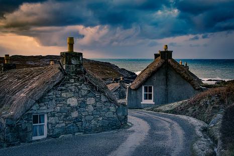 Blackhouses, Scotland. Travel. Travel blog. Road Trip. Travel tips. Travel Photography. Photography. Commercial. United Kingdom. Europe. Gap year. Wanderlust. camper van. Camping.