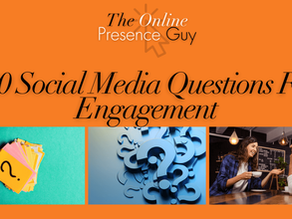 100 Social media questions to encourage engagement
