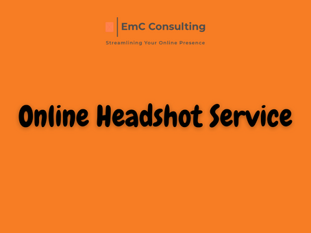 Online business headshot service