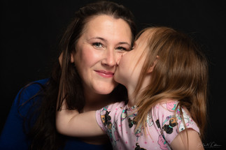 A kiss for mum