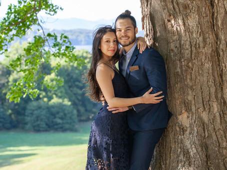 Danielle and Brian