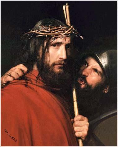 Карл Блох, Христос подиграван от войник