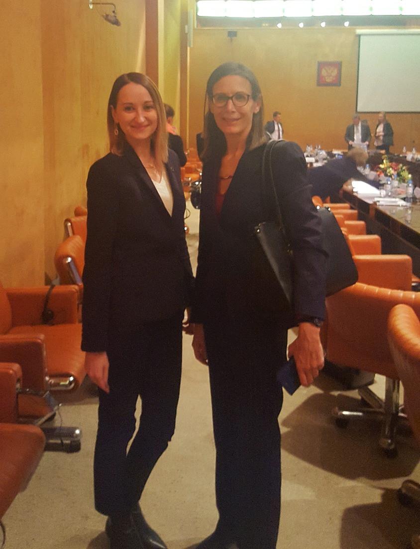 С первым заместителем генпрокурора Израиля