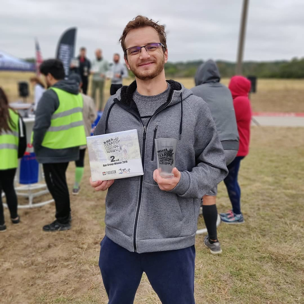 Tom Places in Age Group at Texas Tough Duathlon