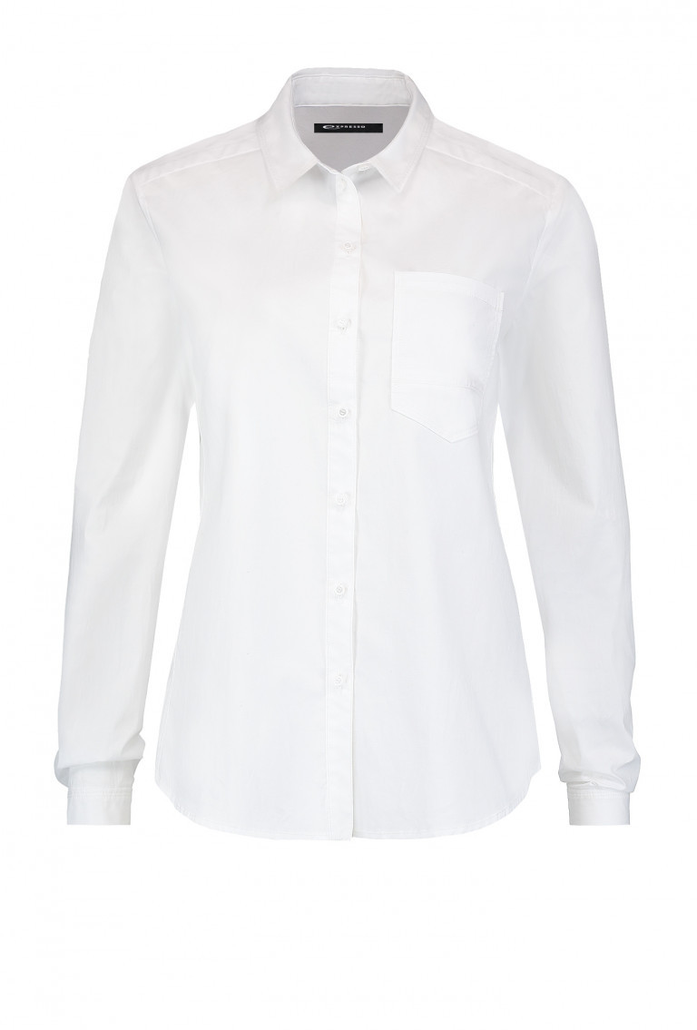 witte duurzame blouse Expresso