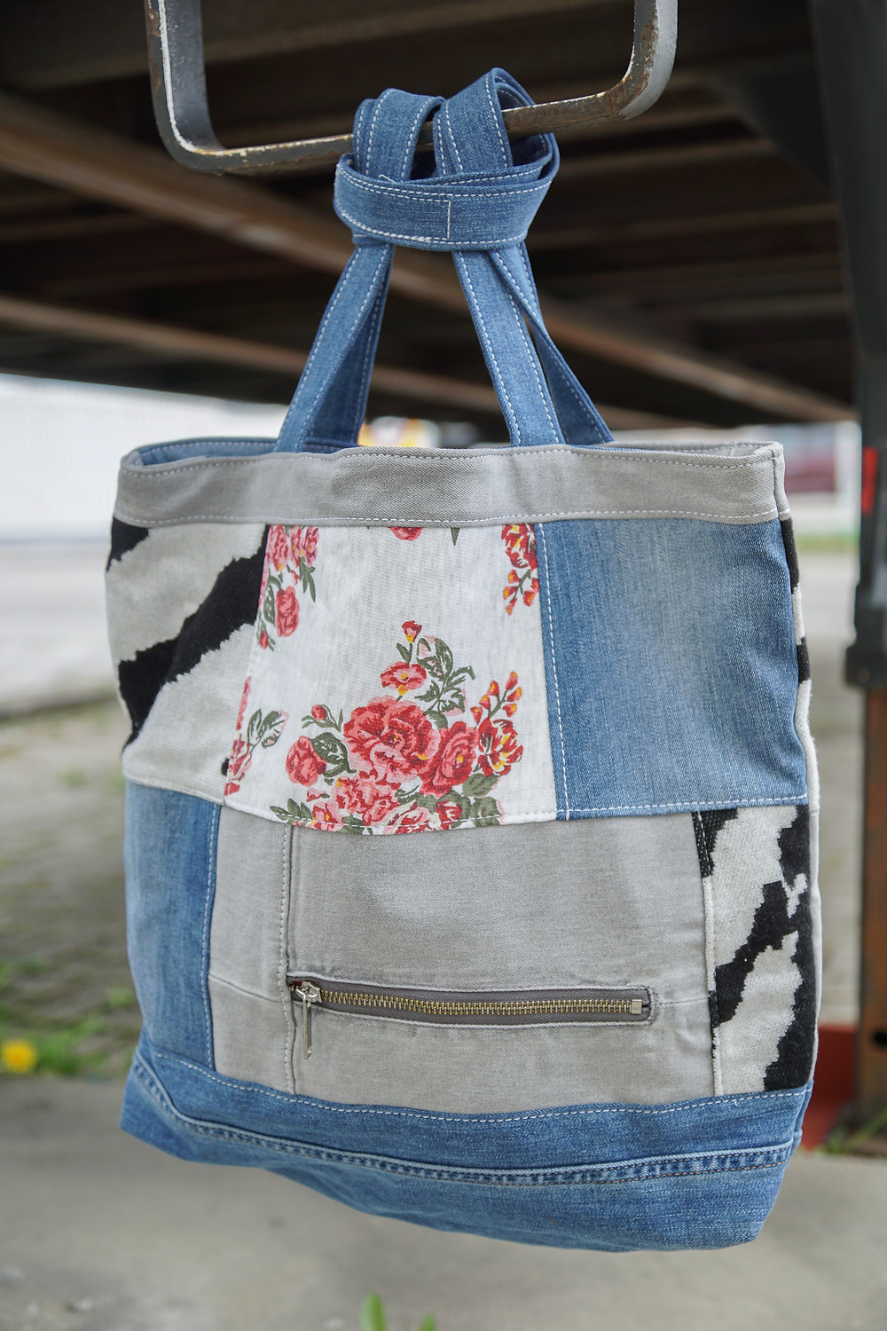 personal upcycled shopper