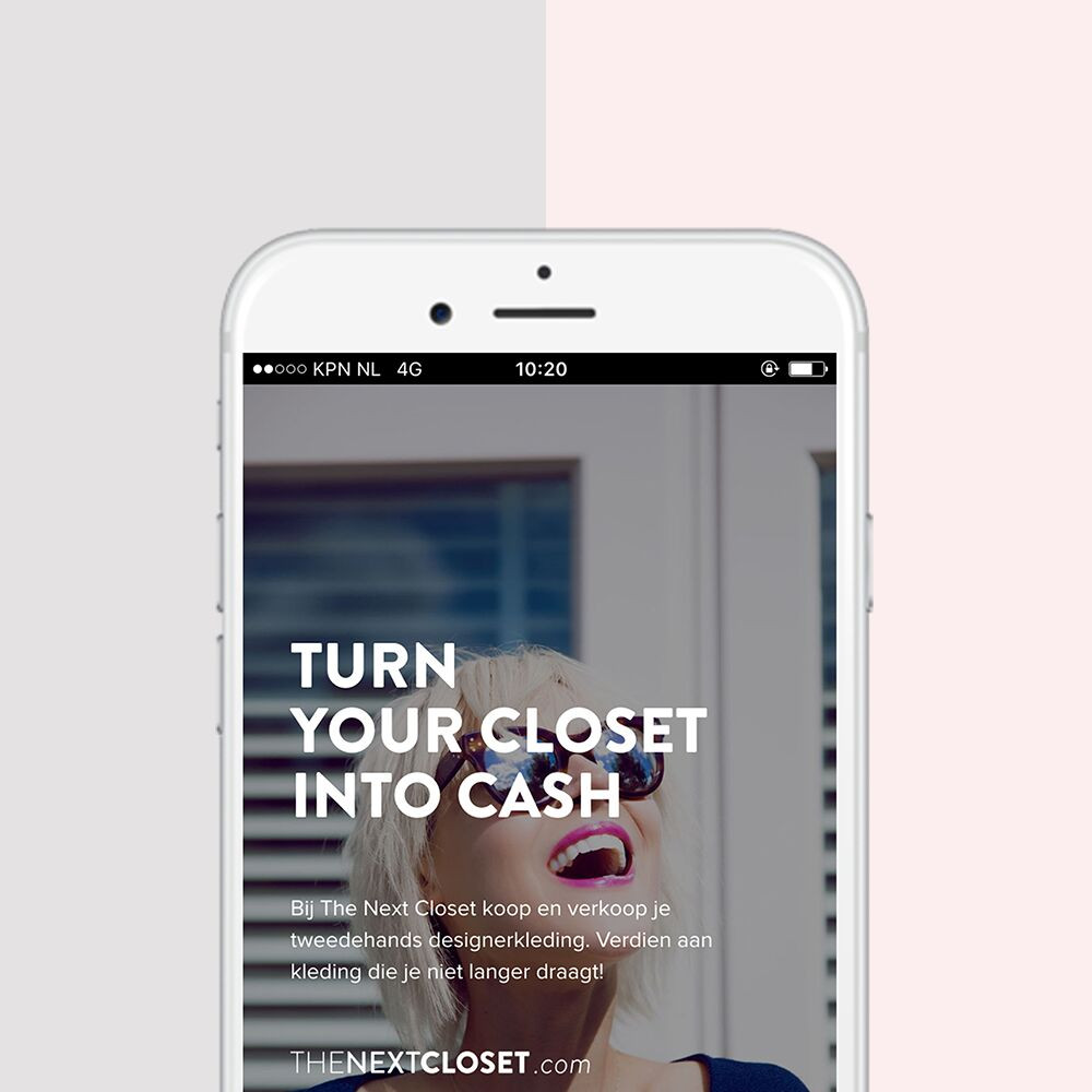 The Next Closet app