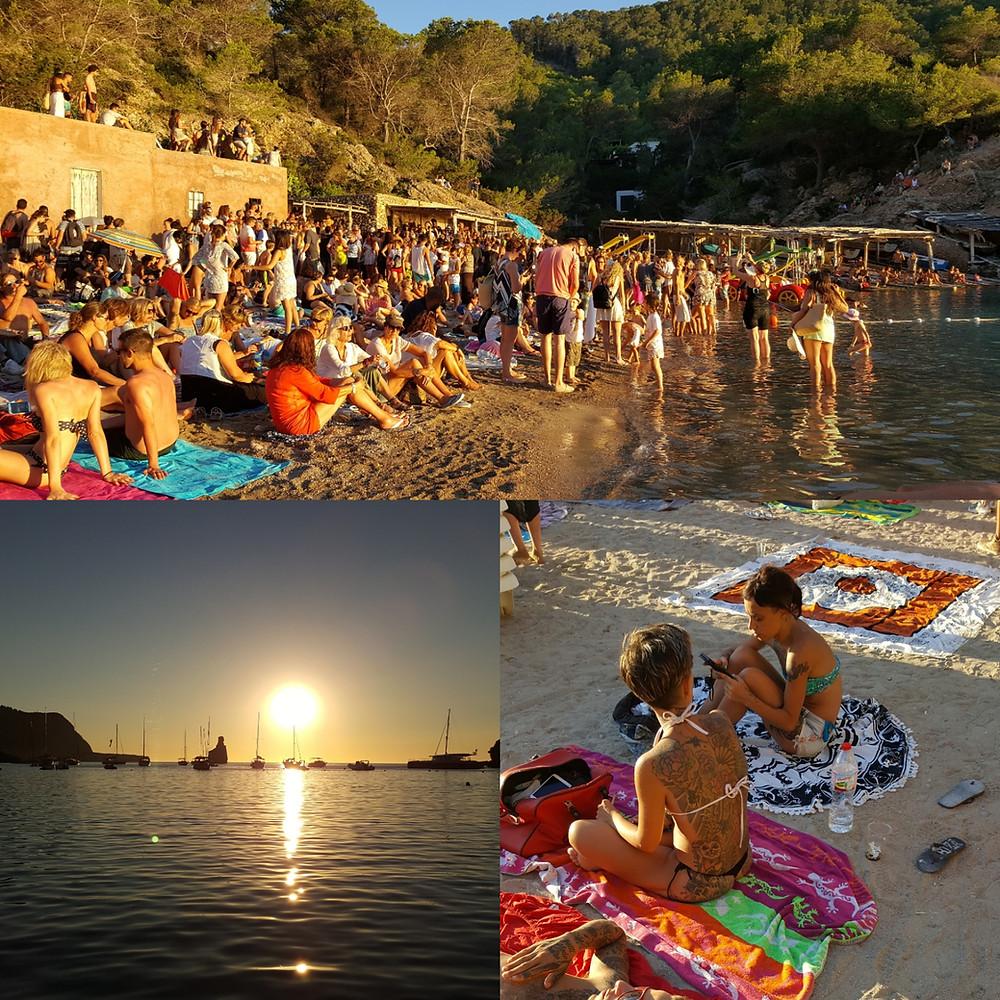Benerras Beach in Ibiza