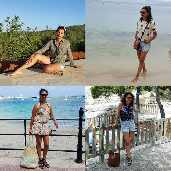 Op vakantie met 20 kledingstukken!