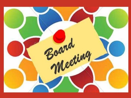 Notice of Public Meeting- Board Meeting- September 8.