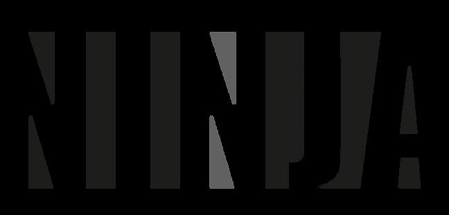 Logo ninja escala de grises.png