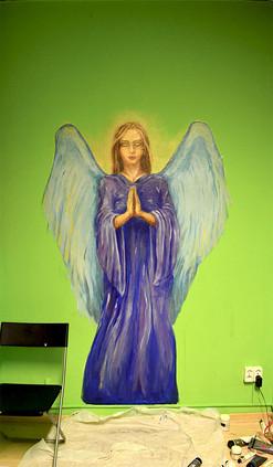 Peint sur les murs