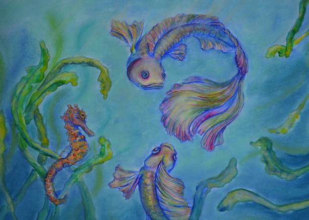 Aquarelle A3