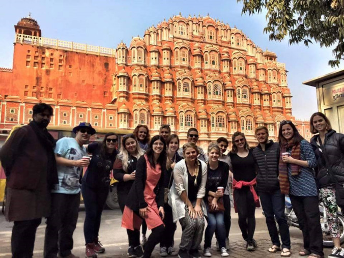 The power of travel to change, inspire and engage young leaders: The Young Leaders Tour in India.