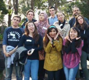 We really wanted a group shot at The Botanic Gardens!