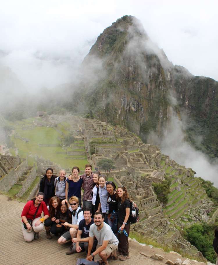 Not a picture was ruined at Machu Picchu