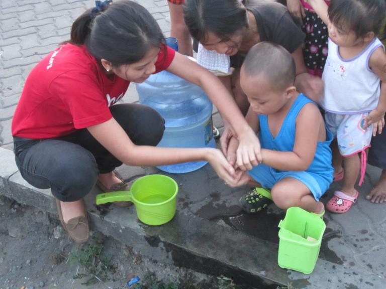 Volunteering is child's play