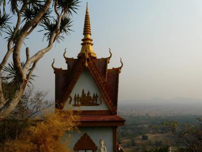 View from Phnom Sampov (Ship Mountain), Battambang.