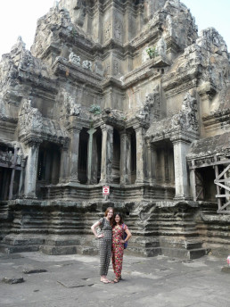 The Temples of Angkor: Wat a view