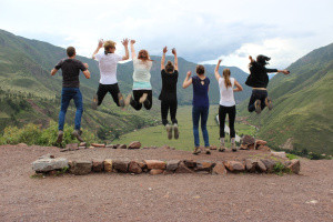 Loving life at Sacred Valley in Pisac