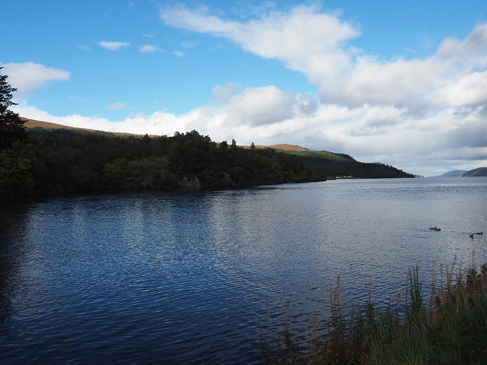 Loch Ness, sadly without Nessie.