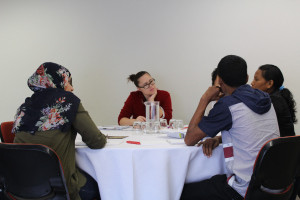 Meaningful discussions abounded during the forum