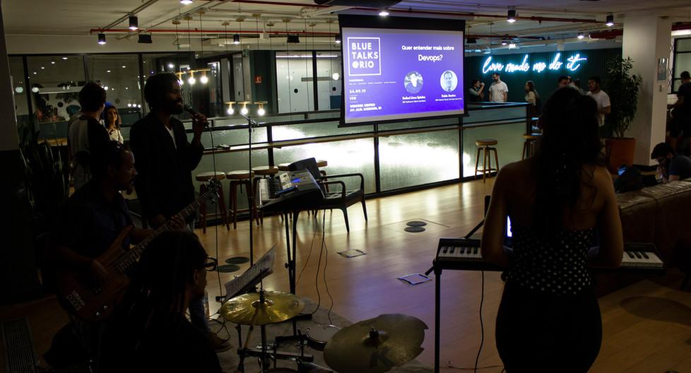 IBM Blue Talks @ Wework Carioca