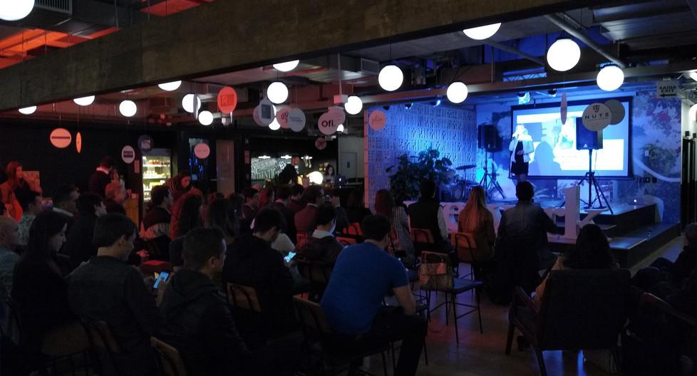Pitch Night @ Wework Atilio Innocenti com Grupo Biê