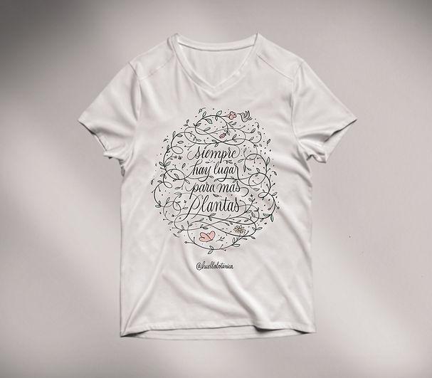 shirt Lettering huella botanica Diogo Ra