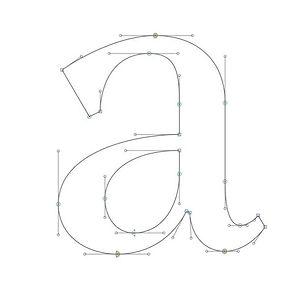 Tip_ En el dibujo de letras use los mane