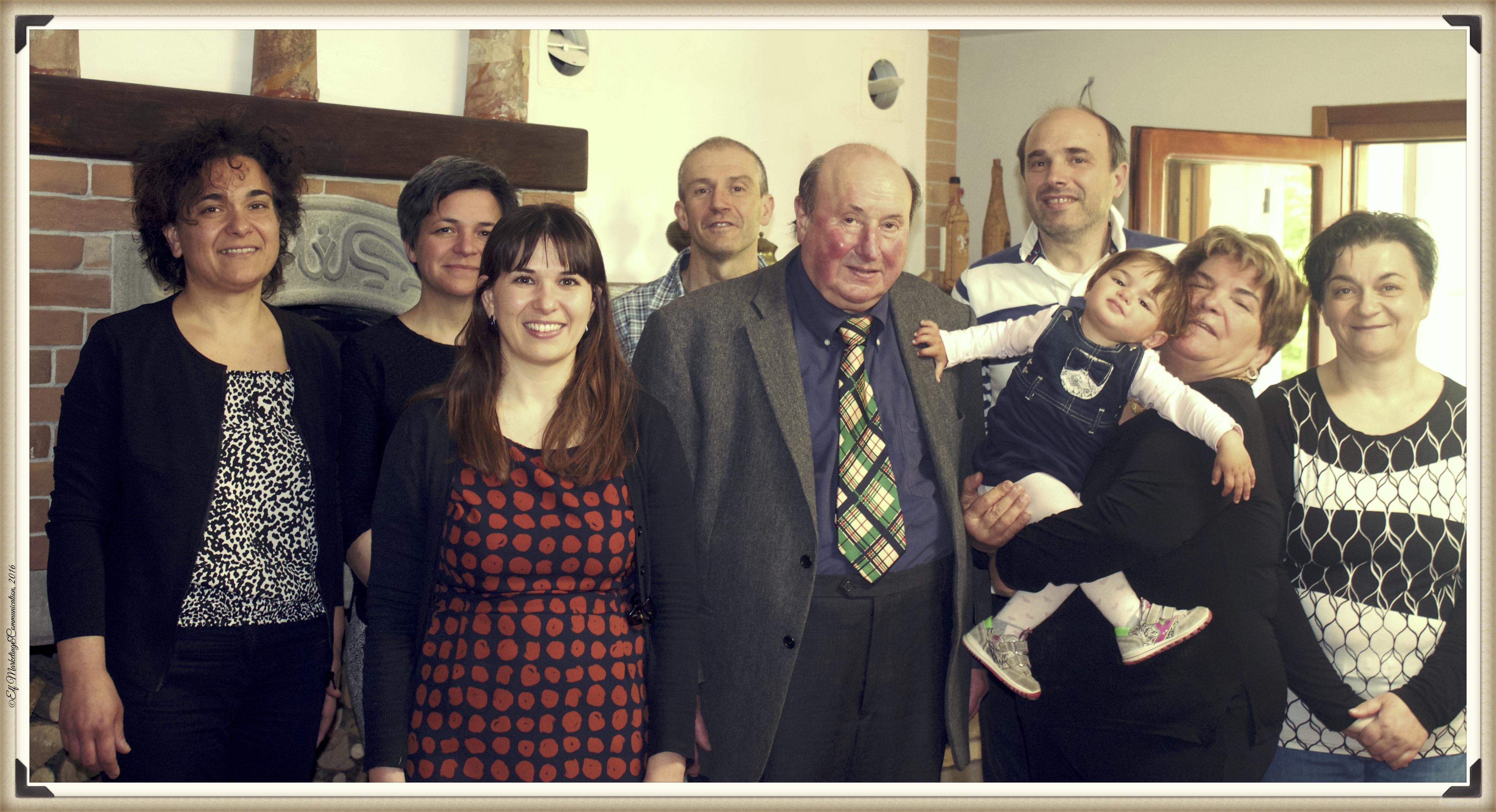 I componenti della Famiglia Agnetti