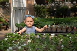 Children Garden Portraits