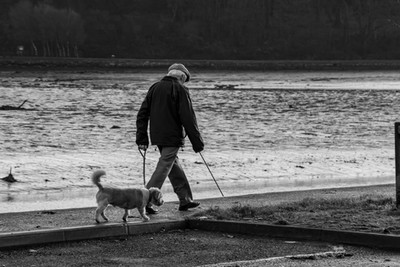 Man Walking in Timoleague